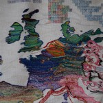 Randi Studsgarth gobelin Rejsen mod Europa
